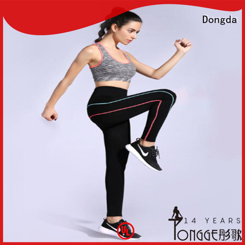 Best womens exercise leggings yoga suit company for sweating