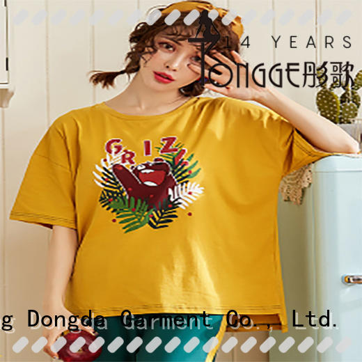summer ladies sleepwear manufacturer for sale Dongda