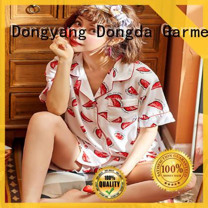 Dongda pajamas womens sleep dress manufacturers for ladies