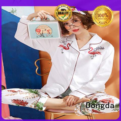 Dongda bamboo women's sleepwear sets factory for ladies