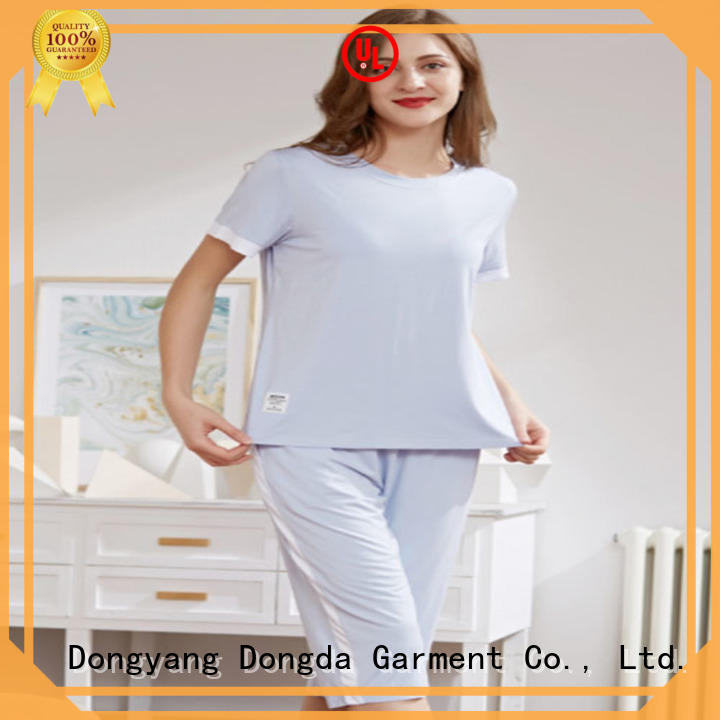 Dongda 16mm sleepwear sets supply for sale
