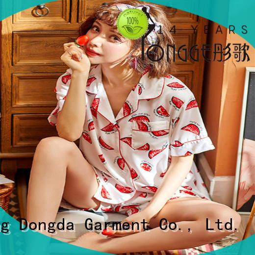 Dongda Top womans pyjamas manufacturers for women