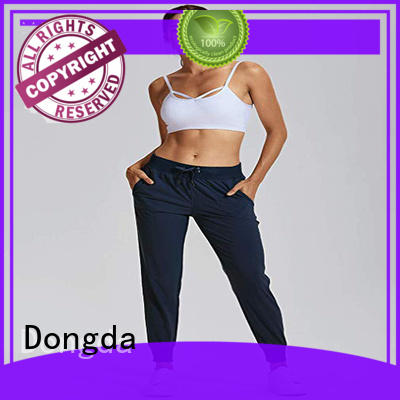 Dongda draw string womens exercise tights suppliers for summer
