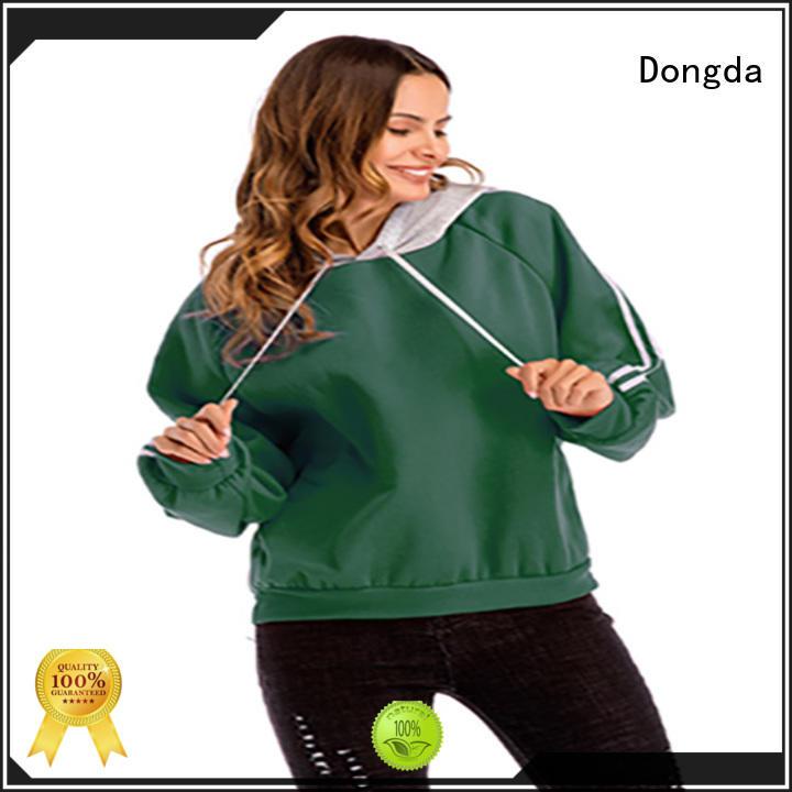 Dongda sweatshirt female hoodies manufacturers for women
