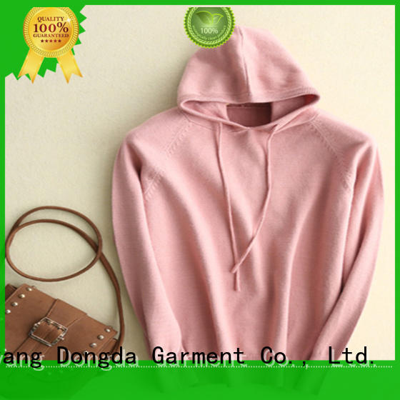 Dongda long sleeved graphic sweatshirts supply for ladies