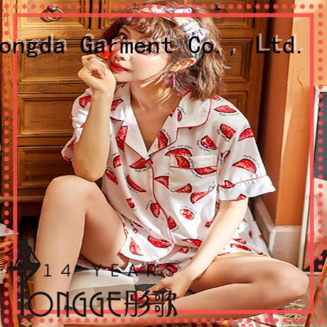 Dongda FOB price pajama dress manufacturer for women