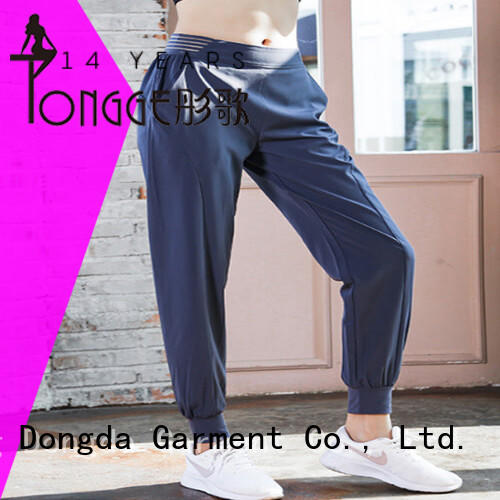 Dongda new arrival women's athletic capri pants casual pants for pregnancy