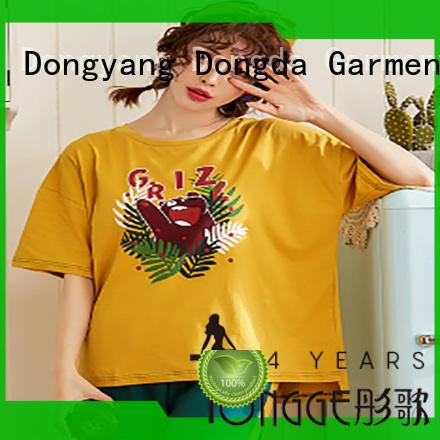 Dongda bamboo women's sleepwear sets manufacturers for sale