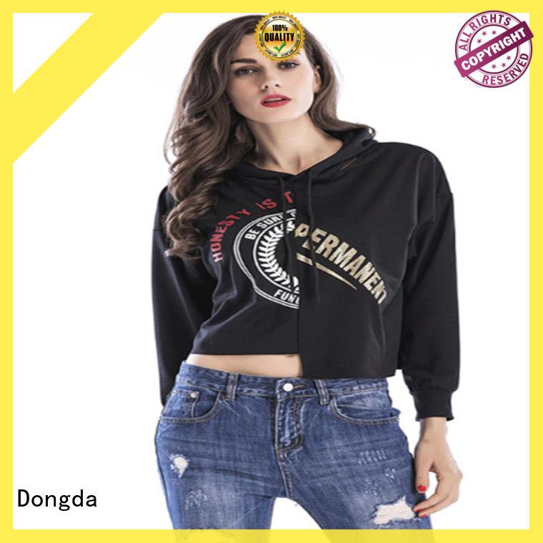 Dongda Custom ladies hoodies company for international market
