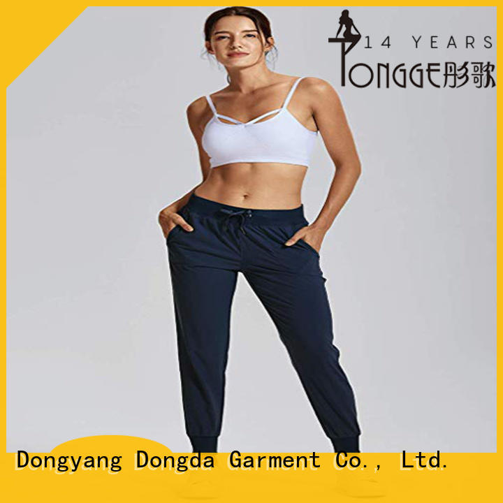 Women's Light Weight Drawstring Training Sports Jogger Pant with Pocket