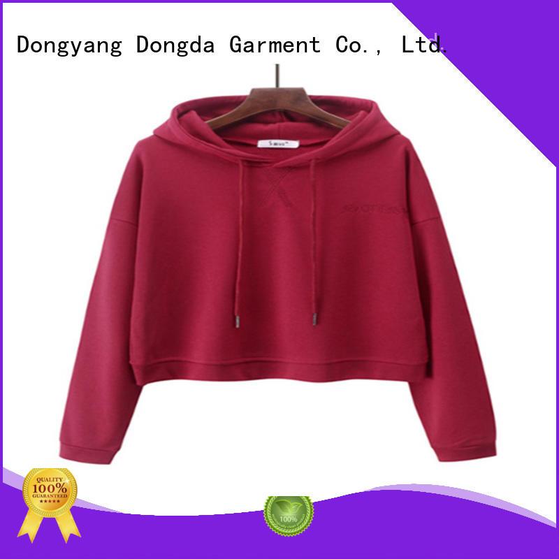 Dongda plaited ladies hoodies company for ladies