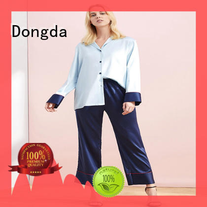 Dongda plain ladies pjs suppliers for ladies