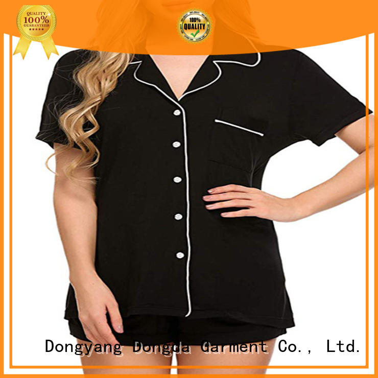Dongda long sleeved pajama dress for sale for ladies