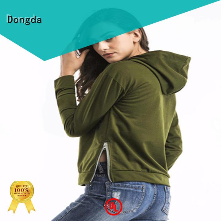 Dongda ladies hoodies for sale for international market