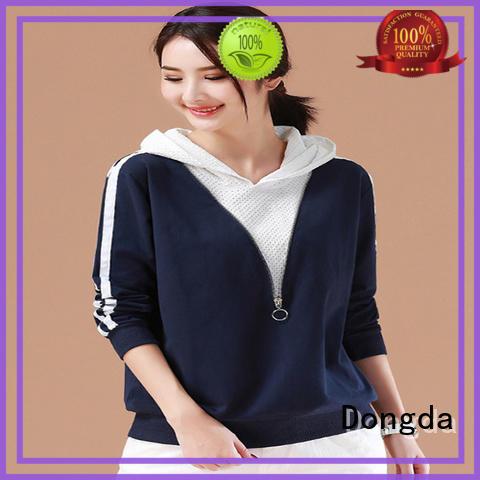 Custom womens sweatshirts single color factory for international market