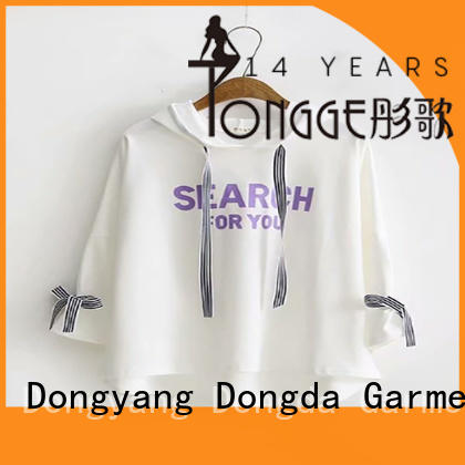Dongda high quality ladies sweatshirts order now for women