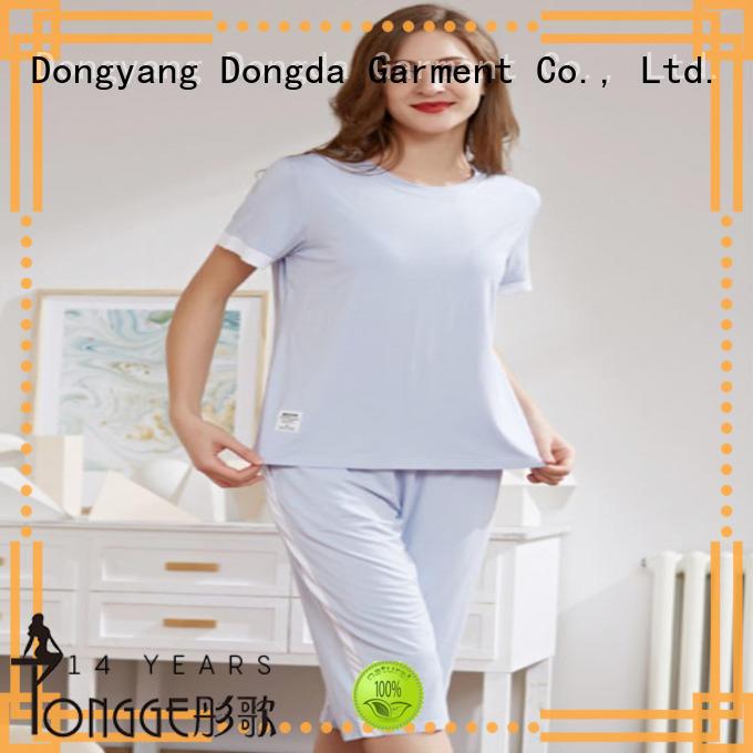 Latest womans pyjamas cotton factory for sale