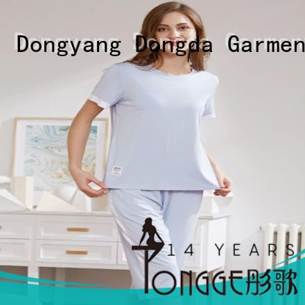 FOB price pyjama manufacturers OEM service for women Dongda