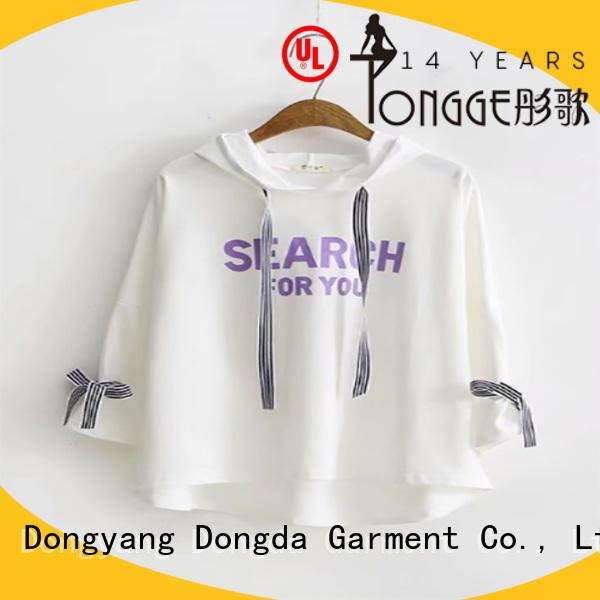 Top female hoodies long sleeved manufacturers for ladies