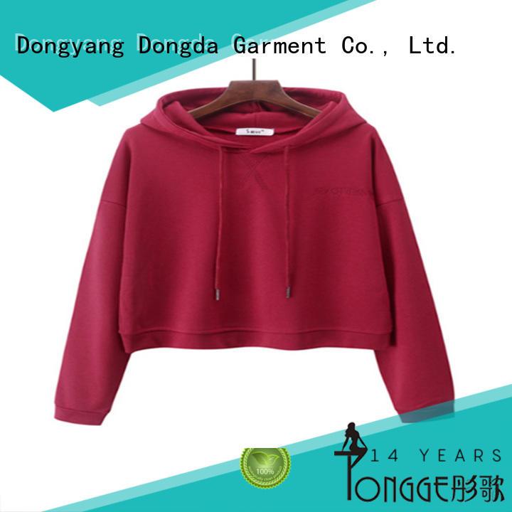 Custom ladies hoodies design suppliers for ladies