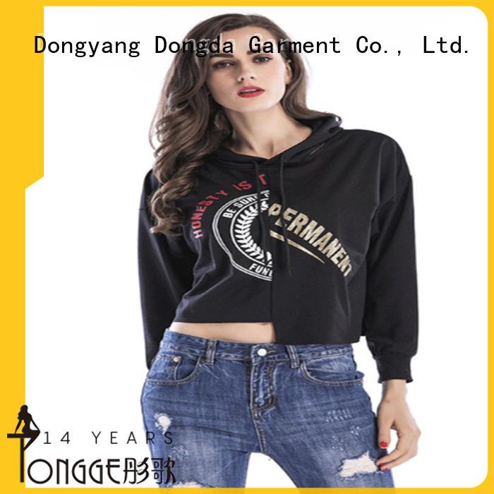 Dongda oversized female hoodies wholesale for women