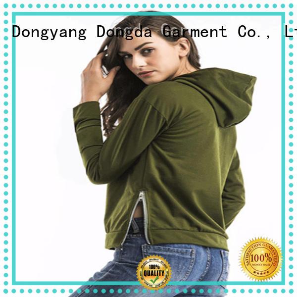Dongda Wholesale female hoodies factory for women