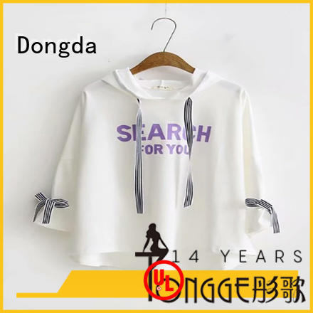 Dongda oversize female hoodies company for ladies
