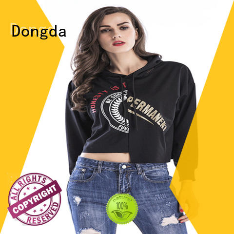 Custom graphic sweatshirts single color suppliers for women