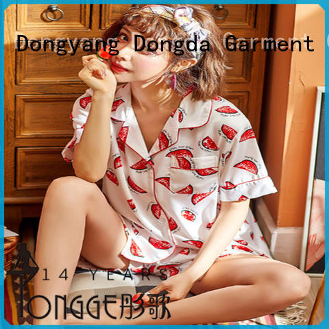 EXW price sleepwear manufacturer OEM service for sale Dongda