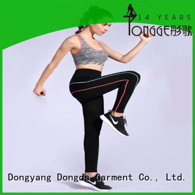 Black Quick-drying High-elastic Women's Gym Leggings