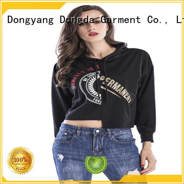Dongda Latest female hoodies company for international market