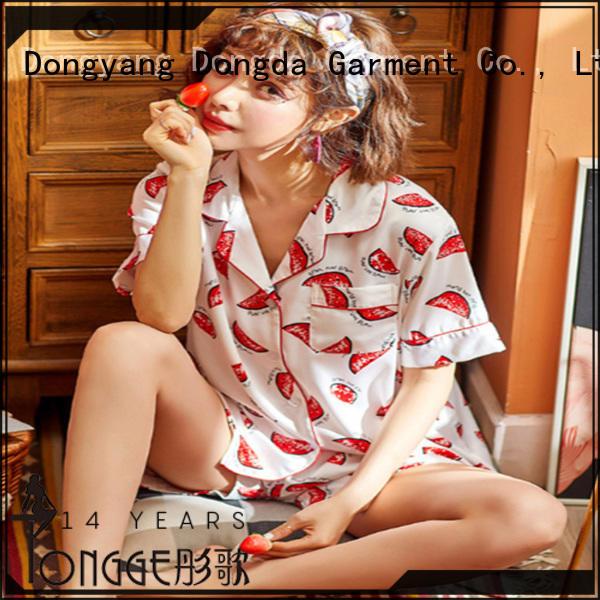 Dongda FOB price womans pyjamas manufacturer for sale