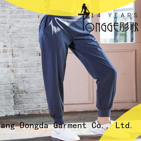 Dongda OEM yoga pants manufacturer modal for pear shaped