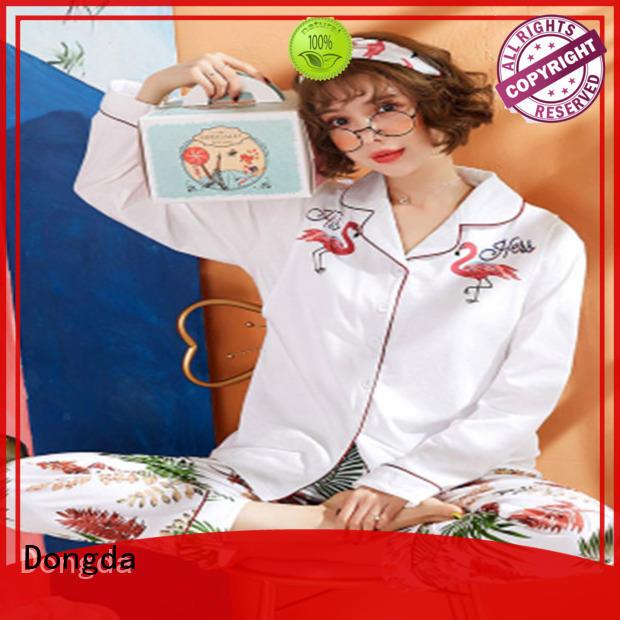 Dongda half sleeve womens sleepwear supply for women