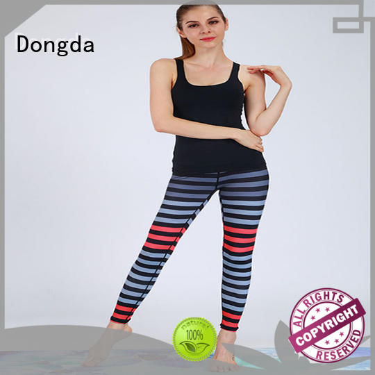 Dongda casual pants exercise leggings supply for sweating