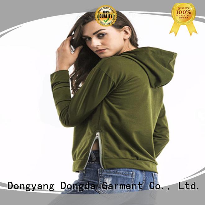 Wholesale female hoodies hoodies company for women